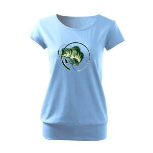 Ryba s prútom - Voľné tričko city