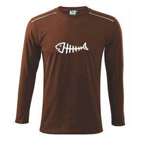 Rybárčenie - Fish - Tričko s dlhým rukávom Long Sleeve