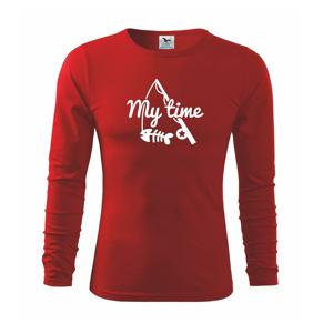 Rybárčenie - My time - Tričko detské Long Sleeve