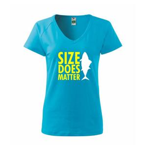 Rybárčenie - Size does matter - Tričko dámske Dream