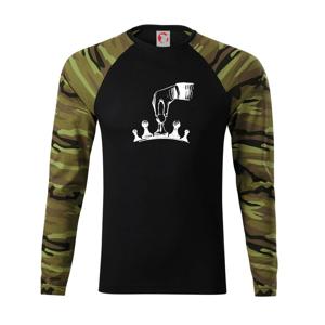 Šach - ruka - Camouflage LS