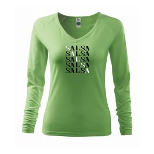 Salsa nápis - Tričko dámske Elegance