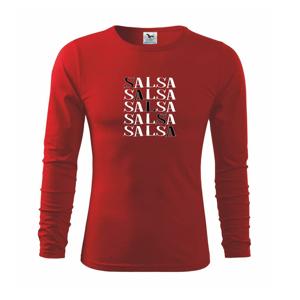 Salsa nápis - Tričko detské Long Sleeve