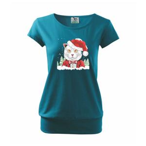Santa kocúr - Voľné tričko city