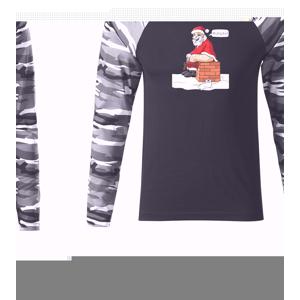 Santa na komíne (Hana-creative) - Camouflage LS