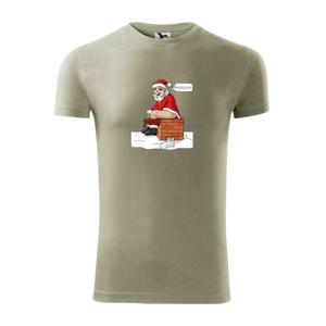 Santa na komíne (Hana-creative) - Viper FIT pánske tričko