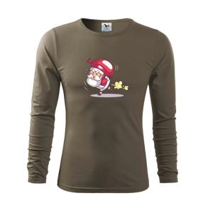 Santa nesie ťažký náklad - Tričko s dlhým rukávom FIT-T long sleeve