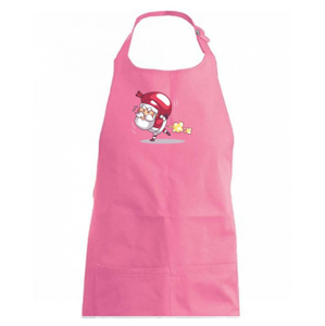 Santa nesie ťažký náklad - Zástěra na vaření