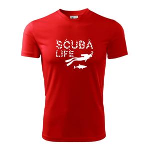 Scuba life - Detské tričko fantasy športové tričko