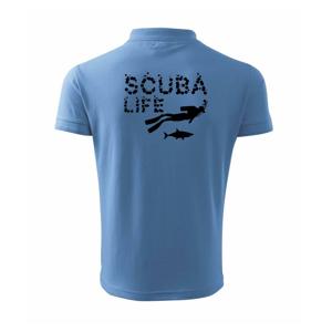 Scuba life - Polokošeľa pánska Pique Polo 203