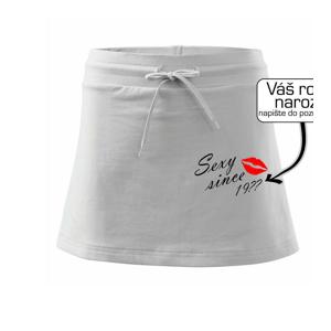 Sexy since - Vlastný ročník - Športová sukne - two in one