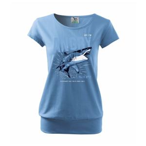Shark angry - Voľné tričko city