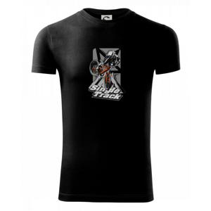 Single track trať - Viper FIT pánske tričko