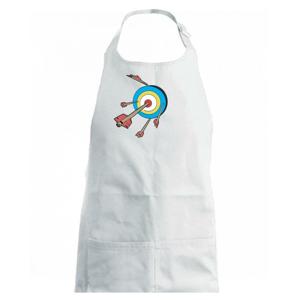 Šípy vo farebnom terči - Zástěra na vaření