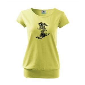 Ski kostra - Voľné tričko city