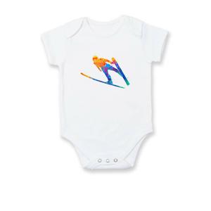 Skokan na lyžiach splash - Dojčenské body