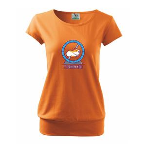 Škrečok v jednom kole - Voľné tričko city