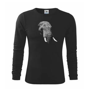 Slon v tme - Tričko detské Long Sleeve