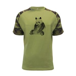 Smutná panda - Raglan Military