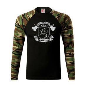 Snake rebel - Camouflage LS