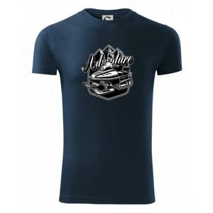 Snežný skúter Adventure - Viper FIT pánske tričko