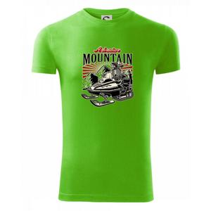 Snežný skúter kostra - Viper FIT pánske tričko