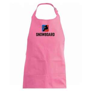 Snowboard logo - Zástěra na vaření