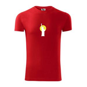 Socha slobody slnko - Viper FIT pánske tričko