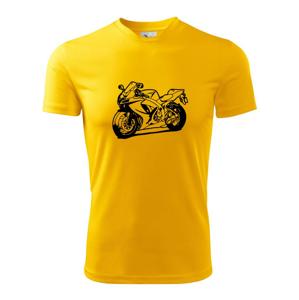 Športová motorka - Pánske tričko Fantasy športové