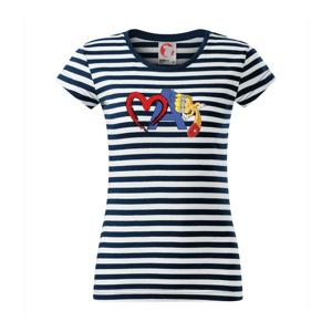 Srdce maľujem - Sailor dámske tričko