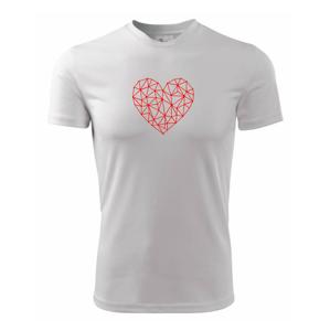 Srdce sieť - Detské tričko fantasy športové tričko