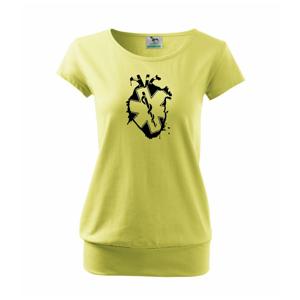 Srdce zdravia - Voľné tričko city