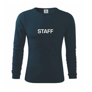 Staff - Tričko s dlhým rukávom FIT-T long sleeve