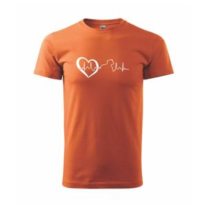 Stafordšírsky bulteriér  EKG - Heavy new - tričko pánske