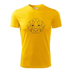 Šteňa - Geometria  - Detské tričko fantasy športové tričko