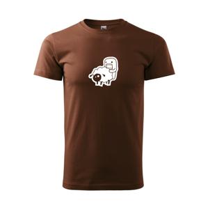 Sticker ovce - Heavy new - tričko pánske