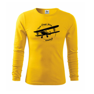 Still Plays With Planes - Tričko s dlhým rukávom FIT-T long sleeve