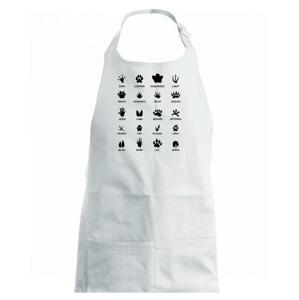 Stopy zvierat - Detská zástera na varenie