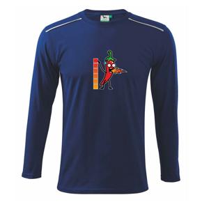 Stupnica pálivé - Tričko s dlhým rukávom Long Sleeve