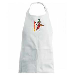 Stupnica pálivé - Zástěra na vaření
