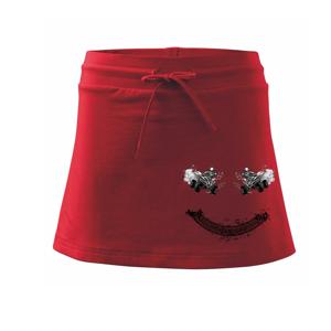 Štvorkolka smile - Športová sukne - two in one
