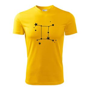 Súhvezdie - Gemini - Blíženci - Detské tričko fantasy športové tričko