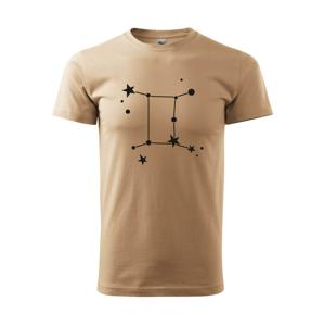 Súhvezdie - Gemini - Blíženci - Heavy new - tričko pánske