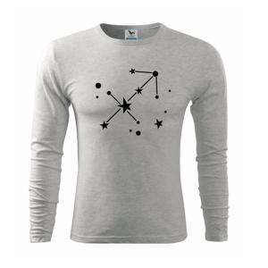 Súhvezdie - Sagittarius - Strelec - Tričko s dlhým rukávom FIT-T long sleeve