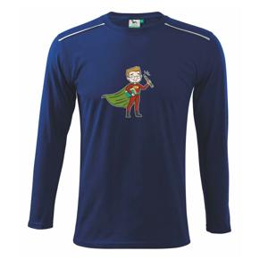 Super učiteľ - Tričko s dlhým rukávom Long Sleeve