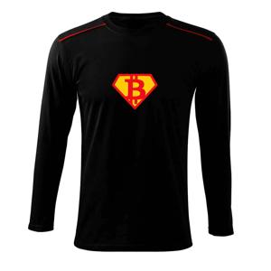 SuperBitcoin - Tričko s dlhým rukávom Long Sleeve