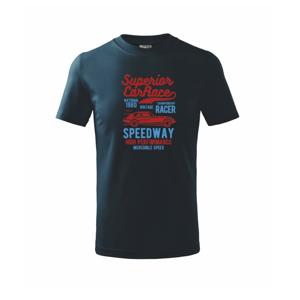 Superior Car Race - Tričko detské basic