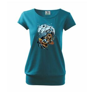 Surfujúcí potápač - Voľné tričko city