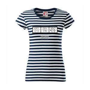 Svadobný deň - váš nápis (Hana-creative) - Sailor dámske tričko