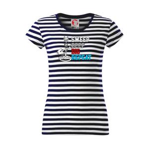 Sweep Beep Dig Repeat - Sailor dámske tričko